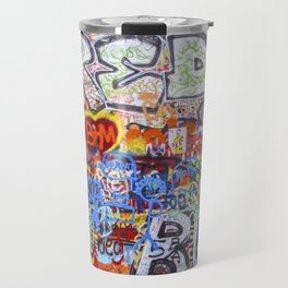 Prague's Wall Travel Mug
