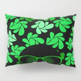 Afro Diva : Green & Black Pillow Sham