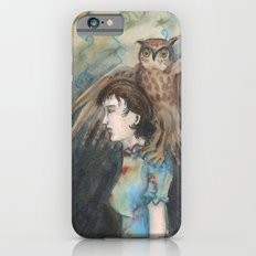 Girl with An Imaginary Owl Slim Case iPhone 6s