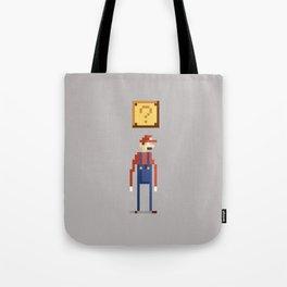 Pixel Plumber Tote Bag
