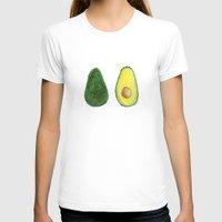 avocado T-shirts featuring Avocado  by Amelia Jayne