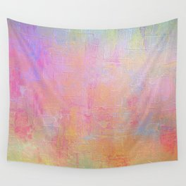 Cotton Candy Abstract Wall Tapestry