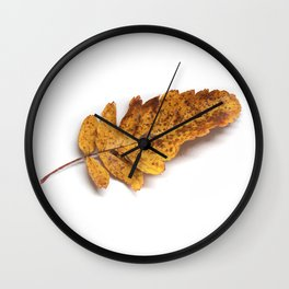 The Autumn Leaf 3 Wall Clock