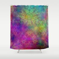 christ Shower Curtains featuring Christ by RingWaveArt