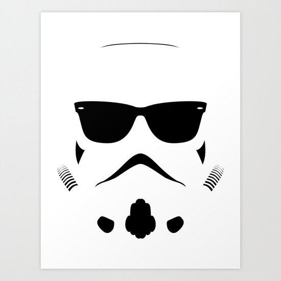 Shadetrooper Art Print