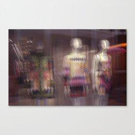 mannequins Canvas Print