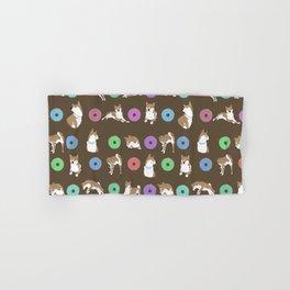 Shiba inu Donut Hand & Bath Towel