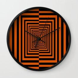 Spooky Tunnel Wall Clock