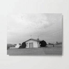CHURCH (B+W) Metal Print