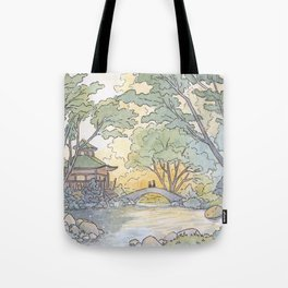 Dream - Watercolor Painting Tote Bag