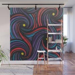 Swirls Wall Mural