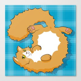 Cat 2: ENEA Canvas Print