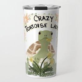 Crazy Tortoise Lady Travel Mug