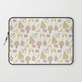 Wedding Pattern Laptop Sleeve