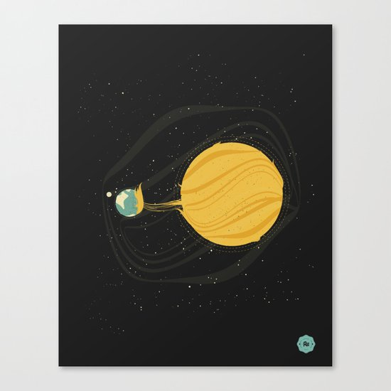 Death by Solar Flare Canvas Print
