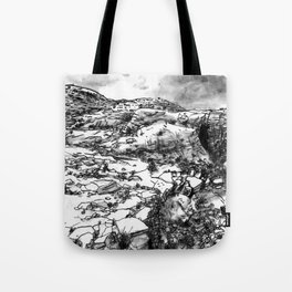 Desert_rocks Tote Bag