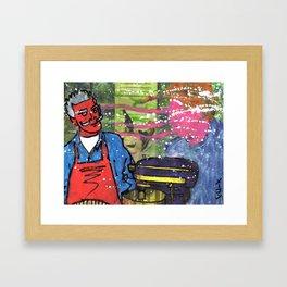 Demon Jaques and the Julia Specter Framed Art Print