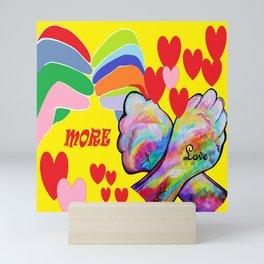 ASL More Love! Mini Art Print