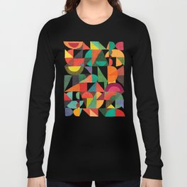 Color Field Long Sleeve T-shirt