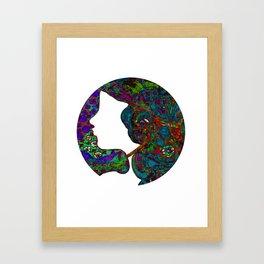 Boho Creative Attitude Framed Art Print