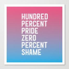 Transgender Pride Canvas Print