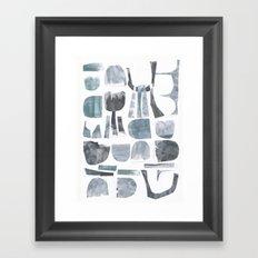 Divided Nature Framed Art Print