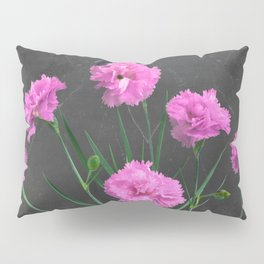 Pinks on Slate Pillow Sham