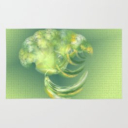 The green Brain Rug