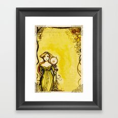 Cymbeline - Shakespeare Folio Illustration Framed Art Print