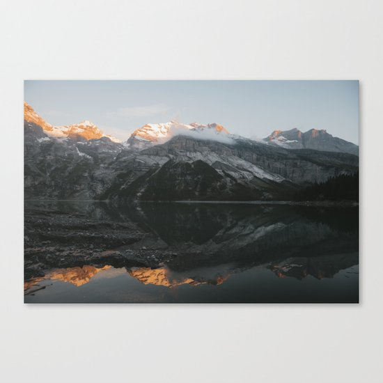 Mirror Mountains - Landscape Photography Canvas Print