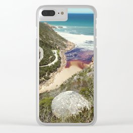 Goukamma river mouth Clear iPhone Case