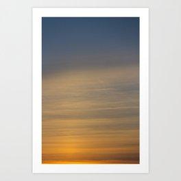 Nature's Gradient Art Print