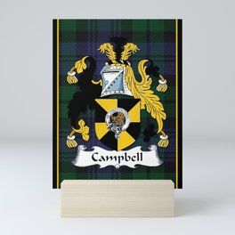Campbell Clan Scottish Coat Of Arms And Crest Mini Art Print