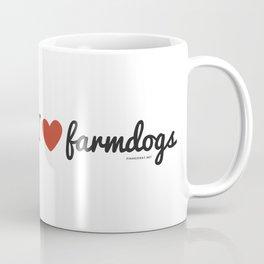 I love farmdogs Coffee Mug