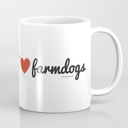 I love farmdogs Coffee Mug