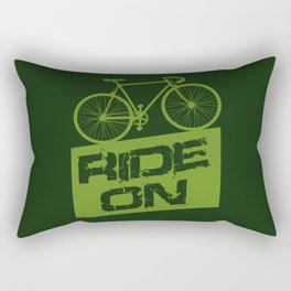 Ride On Rectangular Pillow