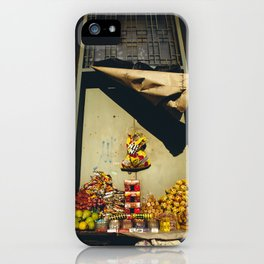 SideWalk Sellers Stall iPhone Case