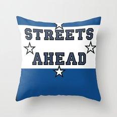 Streets Ahead Throw Pillow