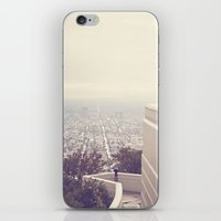 vermont iPhone & iPod Skins featuring Vermont Avenue by CMcDonald