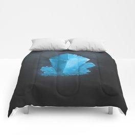 Crystal blue Comforters