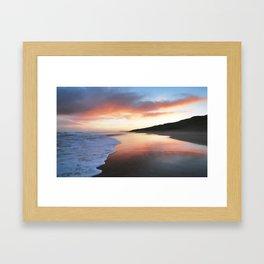A Beautiful Sunrise Framed Art Print