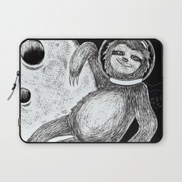 Sloth in Space Laptop Sleeve
