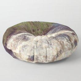Manigotagan River Floor Pillow