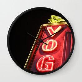 Vog(ue) Vancouver Wall Clock