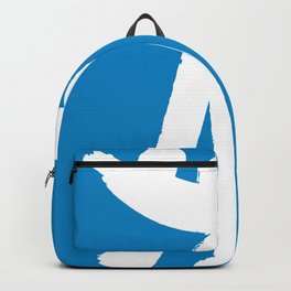 Minimal art Father and son Backpack