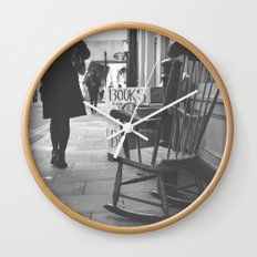 The rocking chair Wall Clock