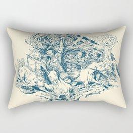 Horsemen of the Apocalypse Rectangular Pillow