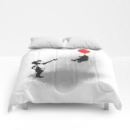 Little Black Rain Cloud Comforters
