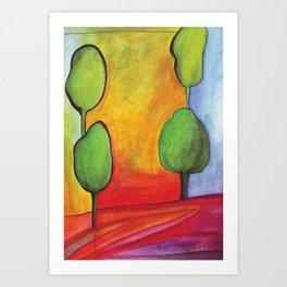 The Magic Trees Art Print