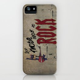 For Those About To Rock iPhone Case